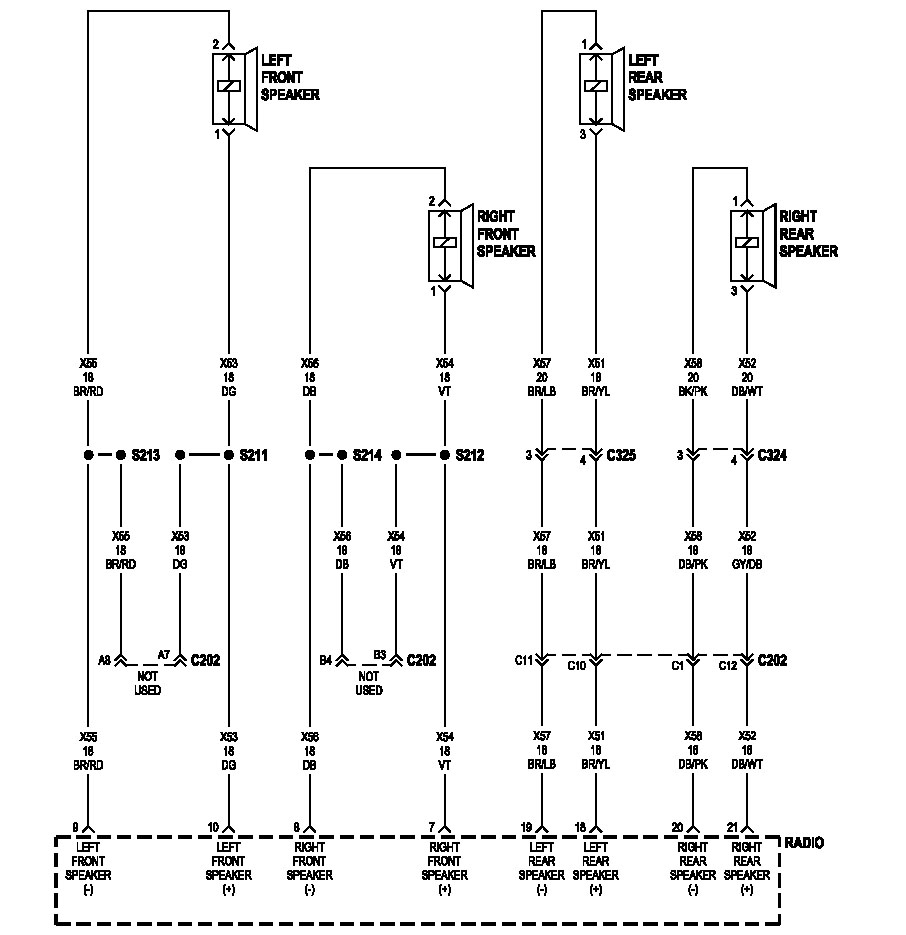 speaker wiring - rubicon owners forum 2004 jeep rubicon wiring diagram
